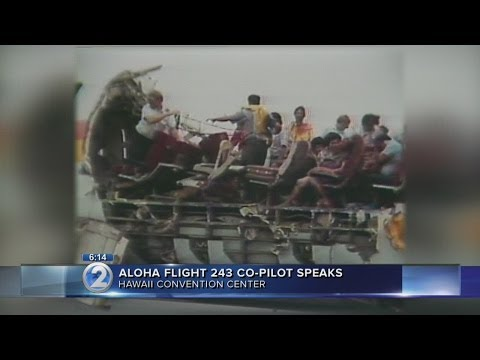 Aloha Airlines Flight 243 pilot describes what happened when roof tore off plane