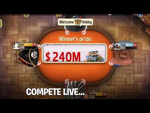 Governor of Poker 3 - Online multiplayer Texas Hold'em Poker game