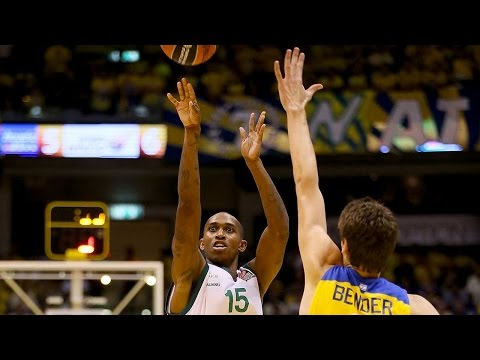 Highlights: RS Round 2, Maccabi FOX Tel Aviv 82-93 Unicaja Malaga