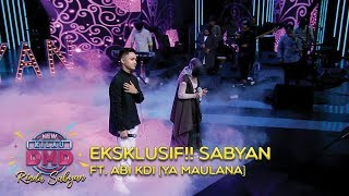 Video EKSKLUSIF!! Sabyan Ft. Abi KDI [YA MAULANA] - DMD Rindu Sabyan (20/11) MP3, 3GP, MP4, WEBM, AVI, FLV Februari 2019