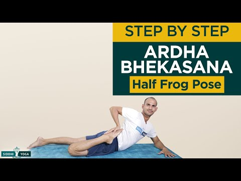 Ardha Bhekasana (Half Frog Pose)