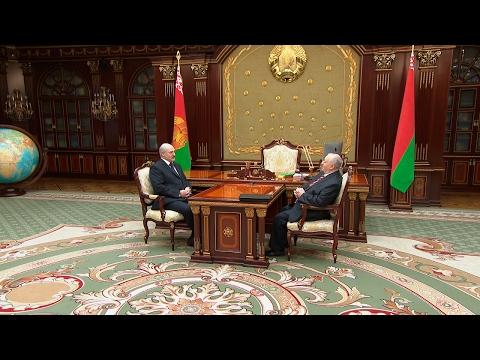 Лукашенко провел встречу с главным редактором 'Народнай волi'