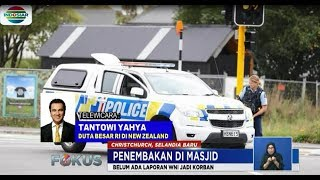 Video Live Report Penembakan Masjid di Selandia Baru Lewat Dubes RI - Fokus MP3, 3GP, MP4, WEBM, AVI, FLV April 2019