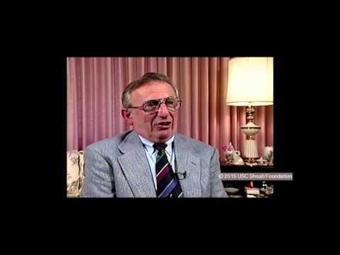פרדריק פירנבאכר מספר כיצד נפגעה הפרנסה תחת המשטר הנאצי ברגנסבורג