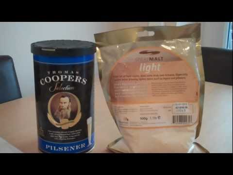 Coopers Brewmaster Pilsner – Home Brew