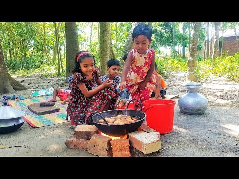 Village Kids Can Cook Everything!! Village Children Cooking Show | Kids Picnic - Cooking Into Nature