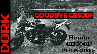 7. Saying Goodbye to the CB500F: It's Not You, It's Me