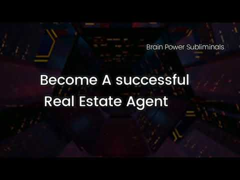 Good evening messages - Become a Real Estate Agent Powerful Subliminal Video
