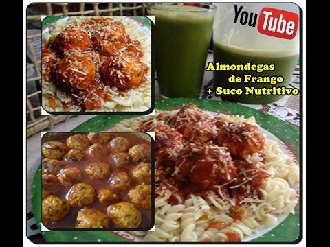 Almondegas de Frango