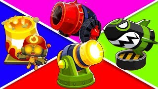 Bloons TD 6 - 4-Player God Boosted Bomb Shooter Challenge   JeromeASF