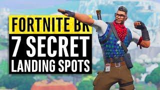 Fortnite | 7 Secret Landing Locations for Safe Easy Wins (Season 7)