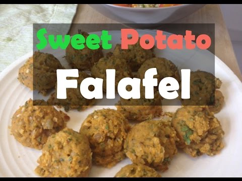 Sweet Potato Falafel — Simple Vegan Recipes, Part 1 with Jovanka Ciares