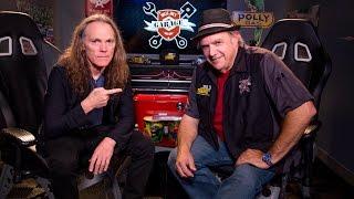 <b>Timothy B Schmit</b> Interviewed In Uncle Joes Garage 1003 The Sound