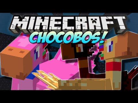 Minecraft | CHOCOBOS! (Final Fantasy in Minecraft!) | Mod Showcase [1.5.1]