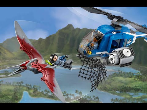 "Конструктор Lego Jurassic World 75915 ""Захват птеранодона"""