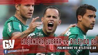 Actuación de Alejandro Guerra con el Palmeiras frente al Atlético GO el 21/06/2017.