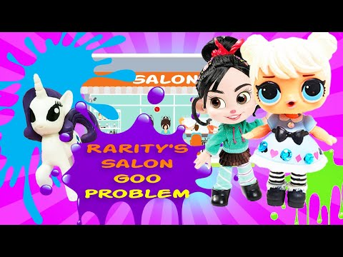 Rarity's Hair Salon Mystery!!!! Featuring Curious QT!  My Little Pony Adventures