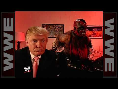 Donald Trump meets The Boogeyman: WrestleMania 23