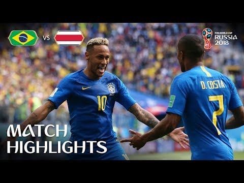 Brazil v Costa Rica - 2018 FIFA World Cup Russia - Match 25