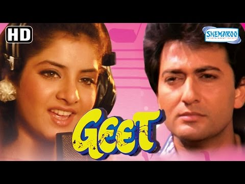 Video Geet {HD} - Avinash Wadhawan | Divya Bharati | Laxmikant Berde - 90's Hit - (With Eng Subtitles) download in MP3, 3GP, MP4, WEBM, AVI, FLV January 2017