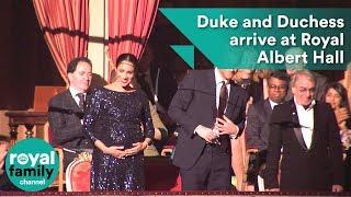 Video Duke and Duchess of Sussex arrive at Royal Albert Hall MP3, 3GP, MP4, WEBM, AVI, FLV Januari 2019