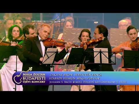 Zakhar Bron - Zoltán Mága - Ernő Sebestyén - Vilmos Szabadi - d-moll violin concerto (J. S. Bach)