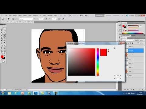 How To Cartoon Yourself In Photoshop CS5