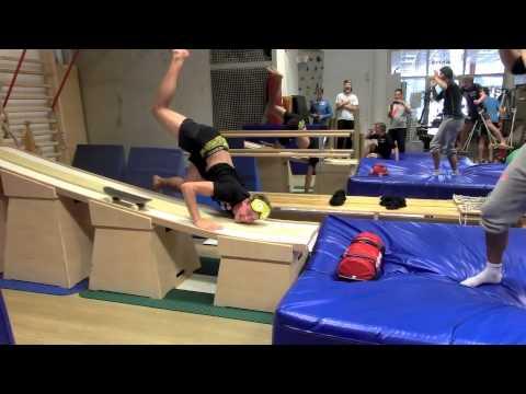 come ci si allena per il salto sugli sci