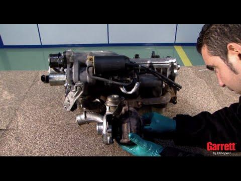 Обучающее видео для установки турбокомпрессора на двигатель F9Q