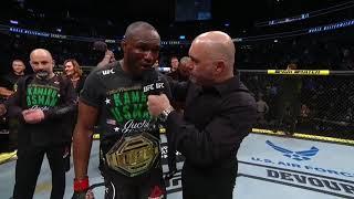 UFC 245: Kamaru Usman Octagon Interview by UFC