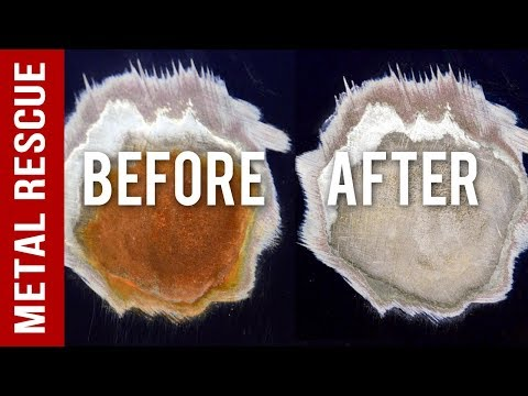 How To Fix A Rust Spot On Any Car Or Truck: GEL Rust Remover