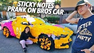 Video Sticky Notes Prank On Bros Car!!! | Ranz and Niana MP3, 3GP, MP4, WEBM, AVI, FLV Mei 2019