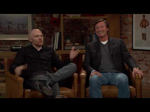 "Bill Burr cracking up Gretzky when discussing ""how to fix hockey"""