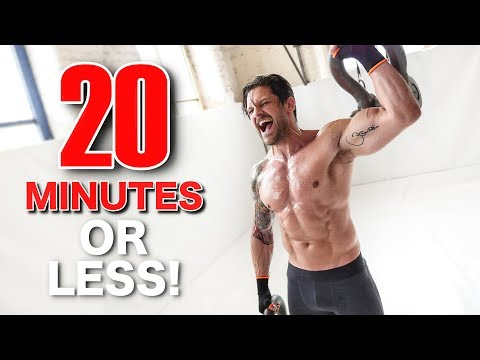 Diet plans - HIGH INTENSITY WORKOUT IN UNDER 20 MINUTES (Can You Beat Me?!)