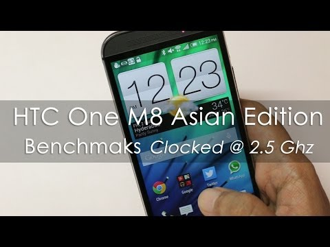 2.5GHz - HTC One M8 (2014 Edition) Asian Version that is sold in India it's main quad-core processor is clocked at 2.5 Ghz compared to other version that are clocked ...