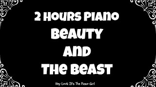 Video Beauty and the Beast 2 Hour Piano Loop | Instrumental | Relaxing | Sleep | Calming MP3, 3GP, MP4, WEBM, AVI, FLV September 2017