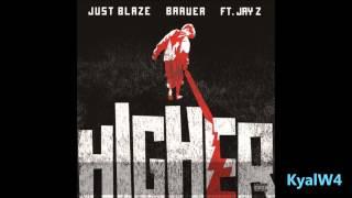 Higher - Just Blaze Ft Baauer & Jay Z Bassboosted