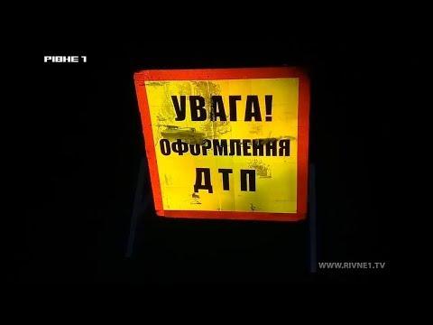 ДТП з летальним наслідком: на Рівненщині поліцейського підозрюють у загибелі жінки [ВІДЕО]