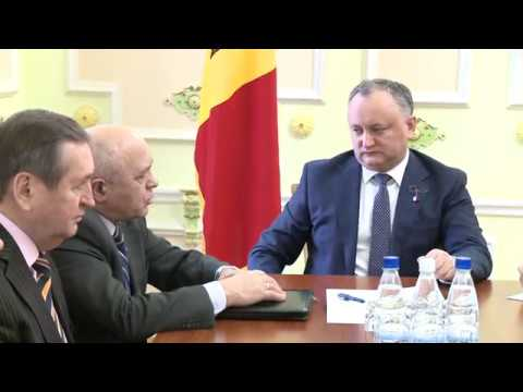 Moldovan president chairs meeting with representatives of farmers, experts in sector