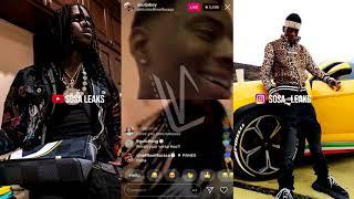 Chief Keef & Soulja Boy On Instagram Live
