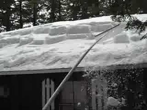 Removing Tough Snow From Your Roof