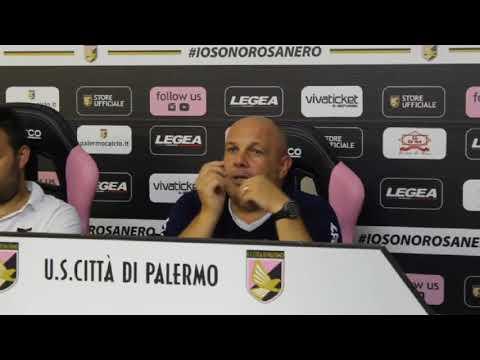 Palermo, Tedino dopo la sfida col Mazara - VIDEO