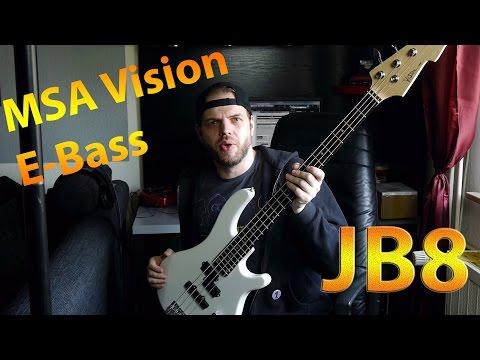E-Bass - JB8 von MSA-Vision - Unboxing und Angucking