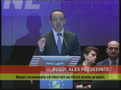 Cristian Bușoi, ales președinte al organizației PNL București
