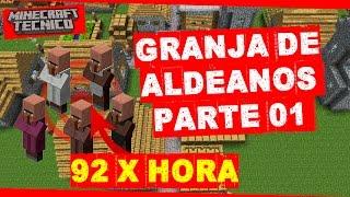 Hoy comenzaremos a construir nuestra granja de aldeanos optimizada para Minecraft 1.11 que produce 92 aldeanos por hora.┌ SUSCRIBETE PARA MAS ┐►►► CLIC AQUÍ: http://goo.gl/BEXQZh└──────────────────────────────┌ Redes Sociales ┐►Twitter: http://goo.gl/Lxcl8j►Facebook: http://goo.gl/tJwaZz└──────────────────────┌ Sígueme en Twitch ┐►Twitch: http:/http://goo.gl/ZjexJS└──────────────────────