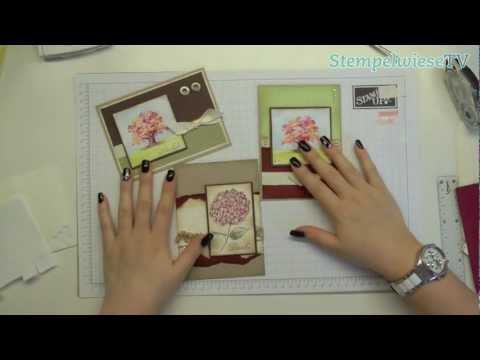 Tutorial - how i make a card - Stampin' Up!