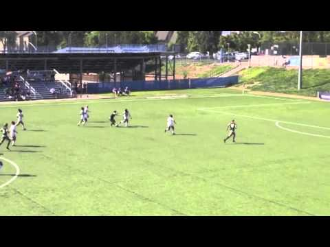 Elise Krieghoff Record-Tying Goal for Cal Poly vs. UC Riverside (Oct. 19, 2014)