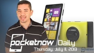 Nokia Lumia 1020 Official, BlackBerry A10 Leaks, Microsoft Phone&more - Pocketnow Daily