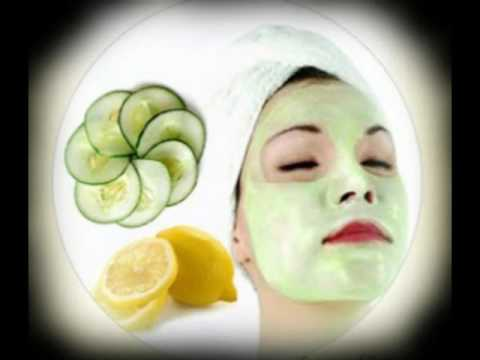 Cucumber with lemon juice for skin bleaching