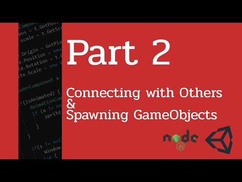 Multiplayer Game with Unity and Node js - Part 2